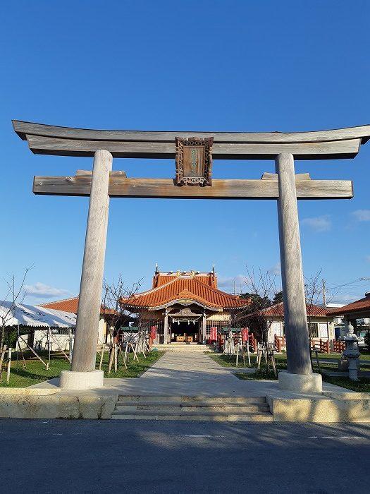 観光・レジャーで満喫 宮古島神社