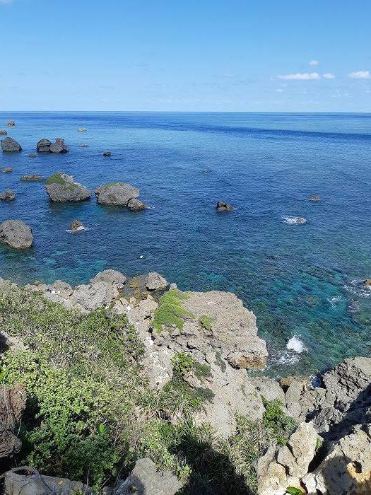 観光・レジャーで満喫 東平安名崎からの眺望