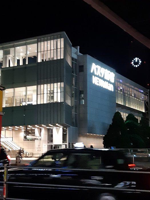 新宿バスタ→仙台