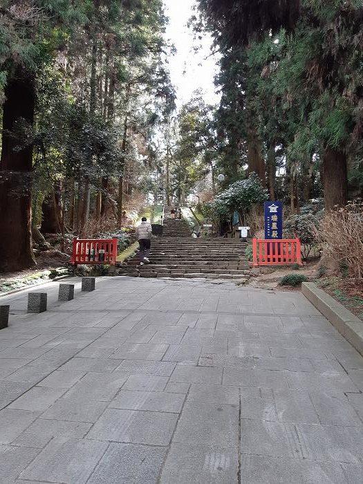 瑞鳳殿の階段