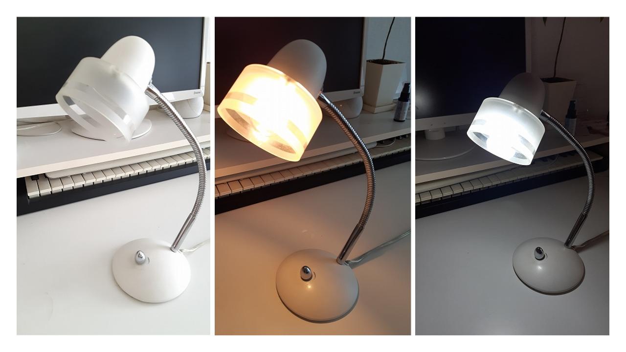 調光デスクスタンド用の電球、間違ってLED電球を買ってしまったらどうなる?!